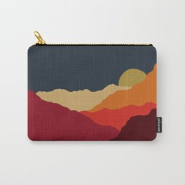 Sunset on the Mountains Carry-All Pouch