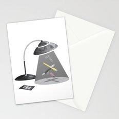 Desktop Abduction Stationery Cards