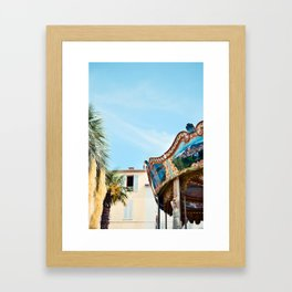 Antique Antibes Framed Art Print