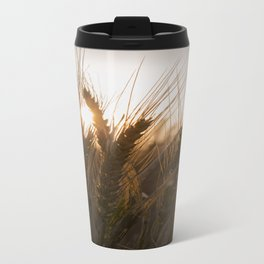 Wheat Holding the Sunset Travel Mug