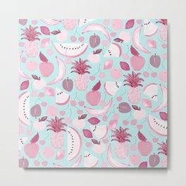 Fruit Punch Blush I Metal Print
