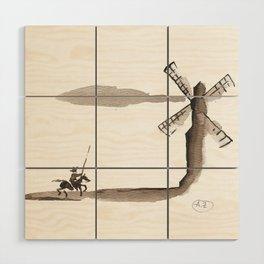 Don Quixote de la Mancha Wood Wall Art