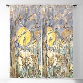 Ostrich Ma & Co Blackout Curtain