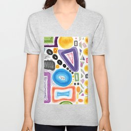 objects from space Unisex V-Neck
