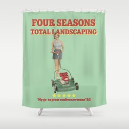 Four Seasons Total Landscaping Shower Curtain