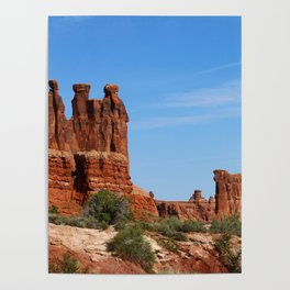 Three Gossips Arches National Park Poster