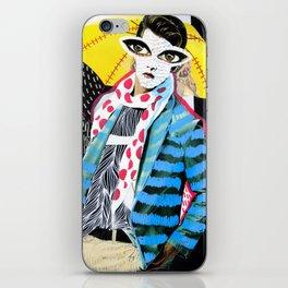 ::Man in the Rain:: iPhone Skin