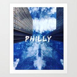 Philly Sky Art Print