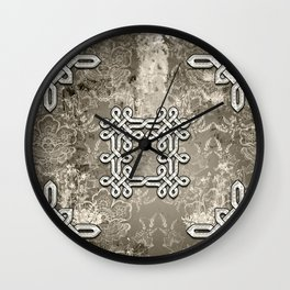 Wonderful celtic knot Wall Clock