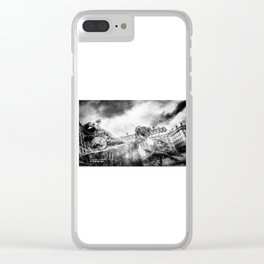 The Knight of Freedom Clear iPhone Case