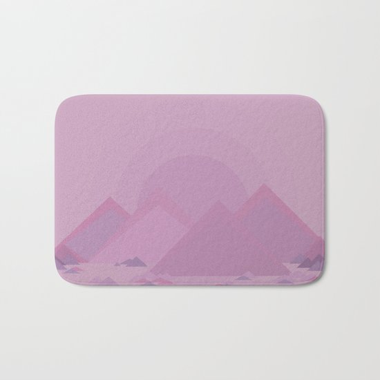 The lilac hills Bath Mat