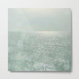 The Silver Sea Metal Print