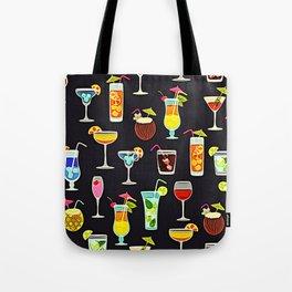It's 5 O'Clock Somewhere Cocktails Tote Bag