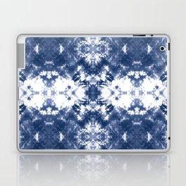 Shibori Tie Dye Indigo Blue Laptop & iPad Skin