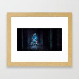 Portal Framed Art Print