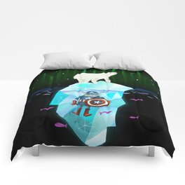 Wonders Above and Below Comforters