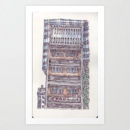 Ballpen Hong Kong 15 Art Print