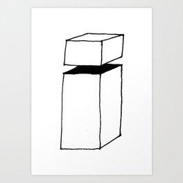 letter i ishade Art Print