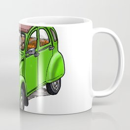 Green 2CV Coffee Mug