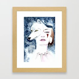 """Princess Mononoke"" Framed Art Print"