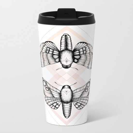 Polillas Metal Travel Mug