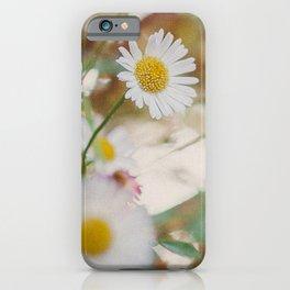 Meadow Wild Flowers iPhone Case
