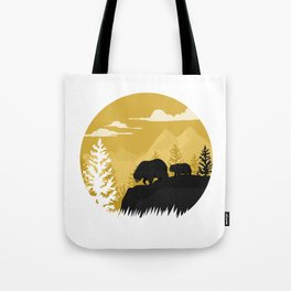 Bear Valley Tote Bag