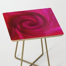 Red Power Wave Side Table