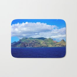 Kauai's Bright Welcome Bath Mat