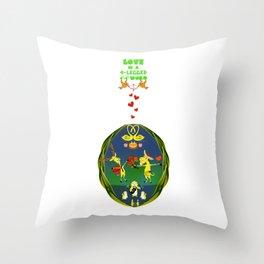Love & Celebrate Throw Pillow