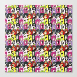 Kim Chi Pattern Canvas Print