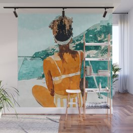 Solo Traveler Wall Mural