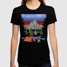 Camp Illustration T-shirt