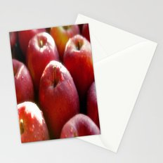 Sweet red Apple Stationery Cards