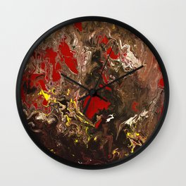 Cherry Skies Wall Clock