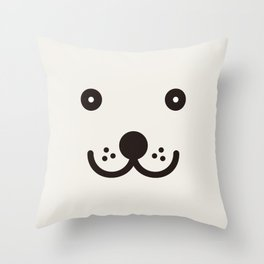 A Happy Day! Throw Pillow
