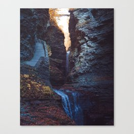 Waterfall at Watkins Glen Canvas Print