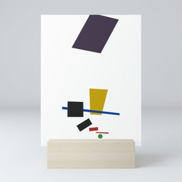 Geometric Abstract Malevic #3 Mini Art Print