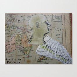 Oceania Collage Print 2012 Canvas Print