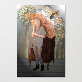 "'To a Mountain Daisy"" Canvas Print"