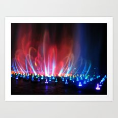 World Of Color II Art Print