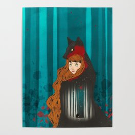 Litte Red Poster