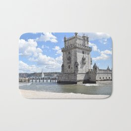 Castelo de Belem, Lisboa Portugal Bath Mat