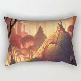 The Little Red Riding Hood Rectangular Pillow