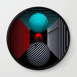 liking geometry -5- Wall Clock