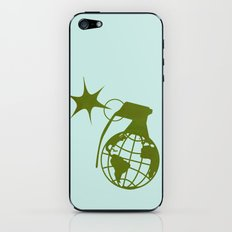 Earth Grenade iPhone & iPod Skin