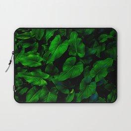 Arum Lilly Leaves II Laptop Sleeve
