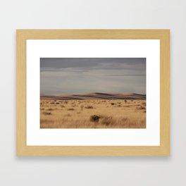 Marfa Landscape Framed Art Print