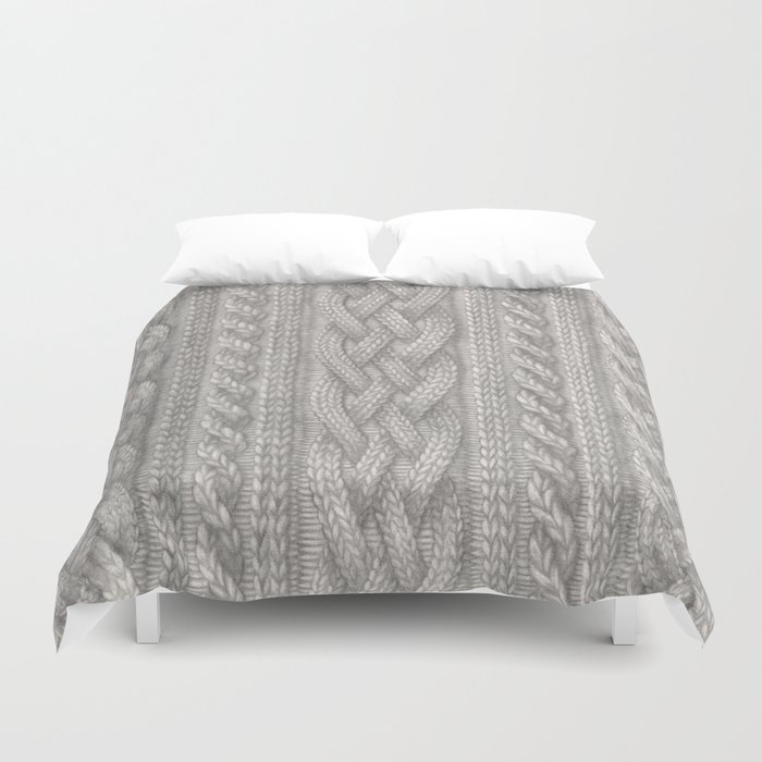 Cable Knit Bettbezug