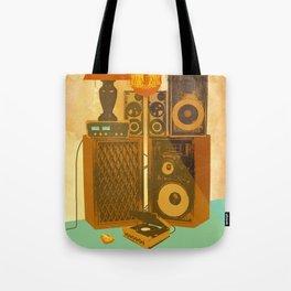 RECORD ROOM Tote Bag